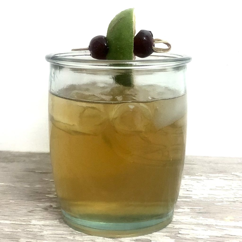 Boozy Advent Horsefeather Cocktail | In Johnna's Kitchen