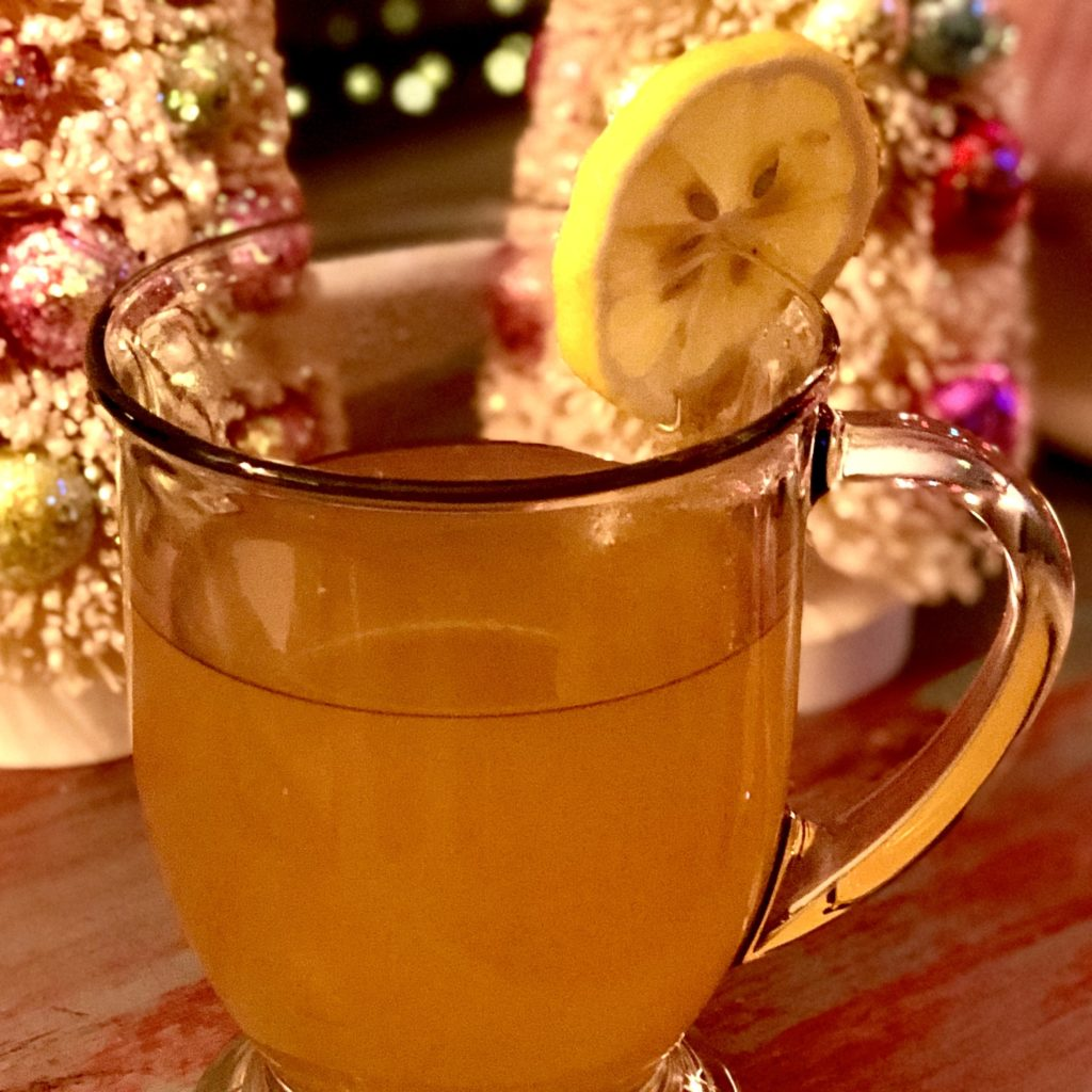 Boozy Advent Bourbon Hot Toddy | In Johnna's Kitchen
