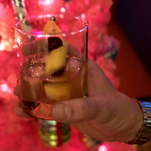 Boozy Advent Bourbon Sour | In Johnna's Kitchen