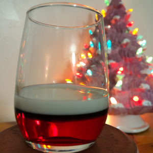 Boozy Advent Santa Shot | In Johnna's Kitchen