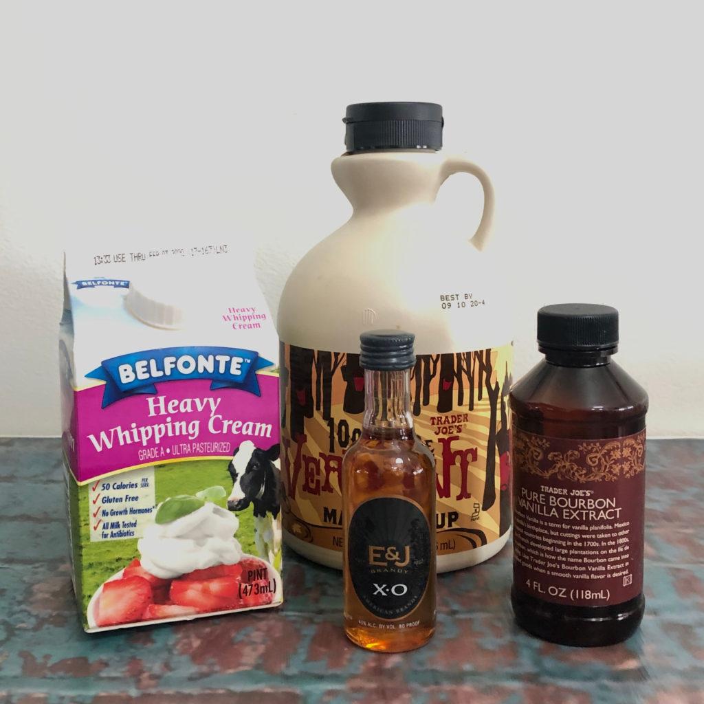 Boozy Advent Brandy Maple Milk Punch | In Johnna's Kitchen