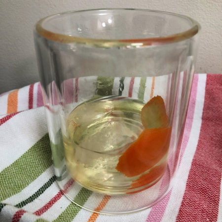 Boozy Advent Tequila Manhattan | In Johnna's Kitchen