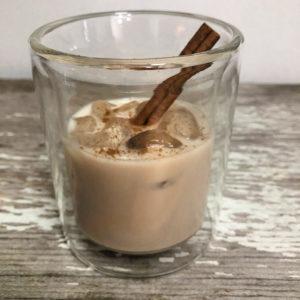 Boozy Advent Cinnamon Roll Cocktail | In Johnna's Kitchen