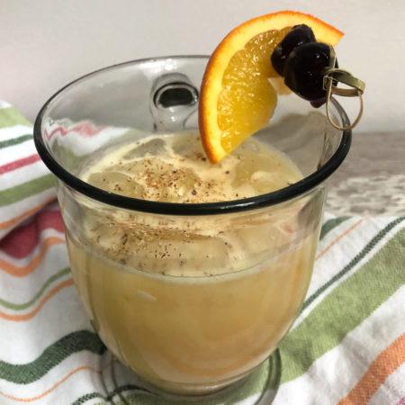 Boozy Advent Painkiller Cocktail | In Johnna's Kitchen