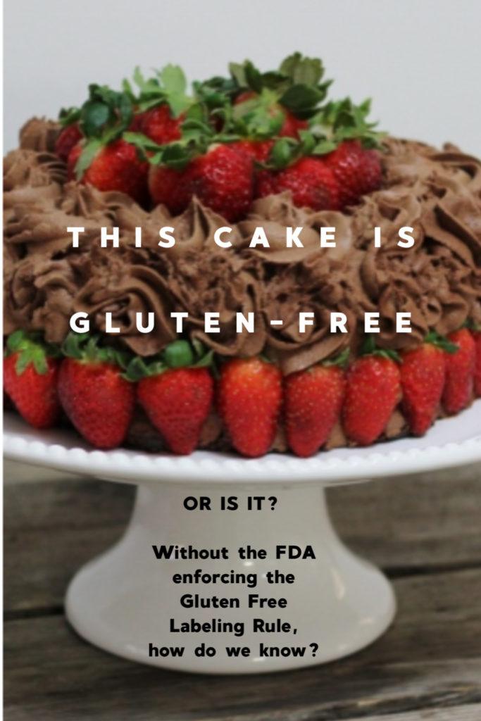 Gluten Free Labeling Rule Postcards