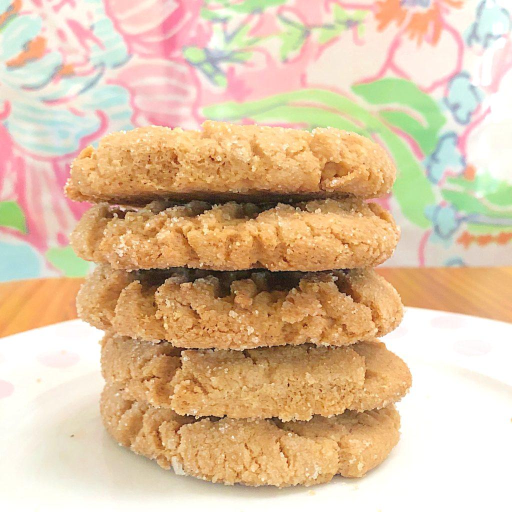 Crunchy Vegan Peanut Butter Cookies | In Johnna's Kitchen