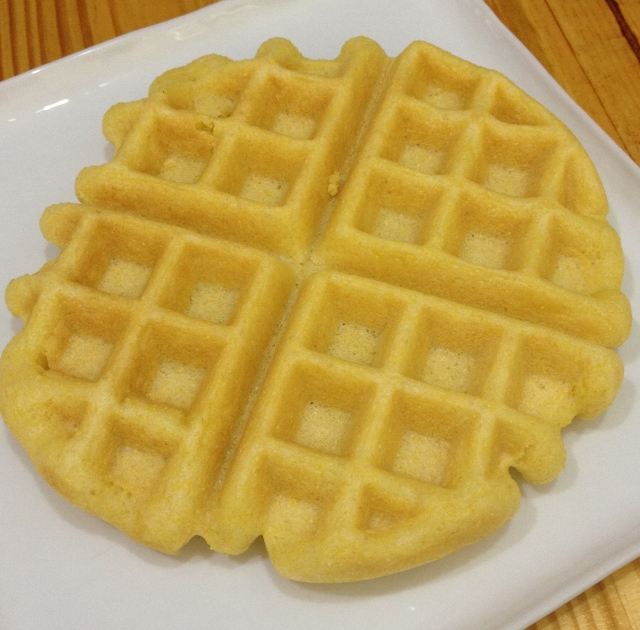 Gluten-Free Cornbread Waffles | In Johnna's Kitchen