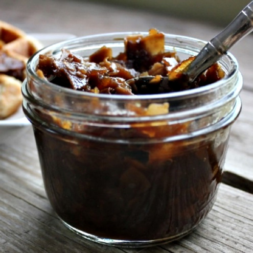 Maple Bourbon Bacon Jam | In Johnna's Kitchen