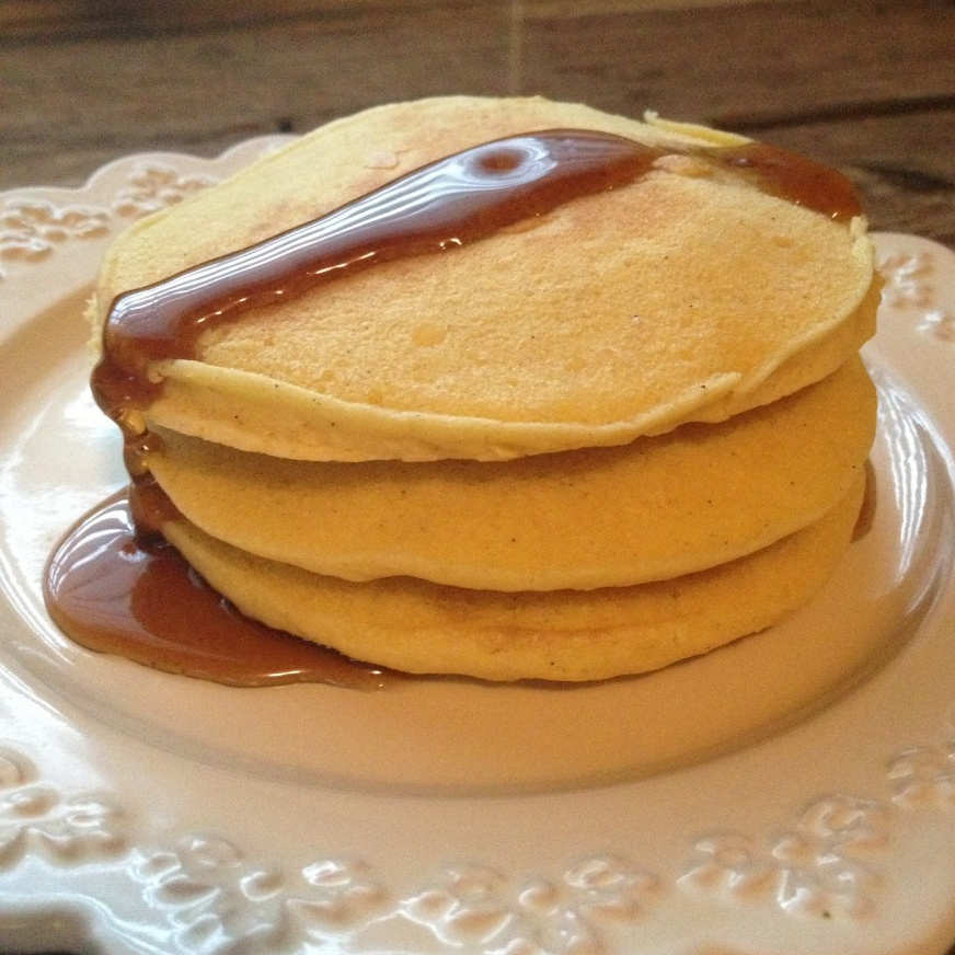 Lazy Morning Gluten-Free Pancakes for Two   In Johnna's Kitchen