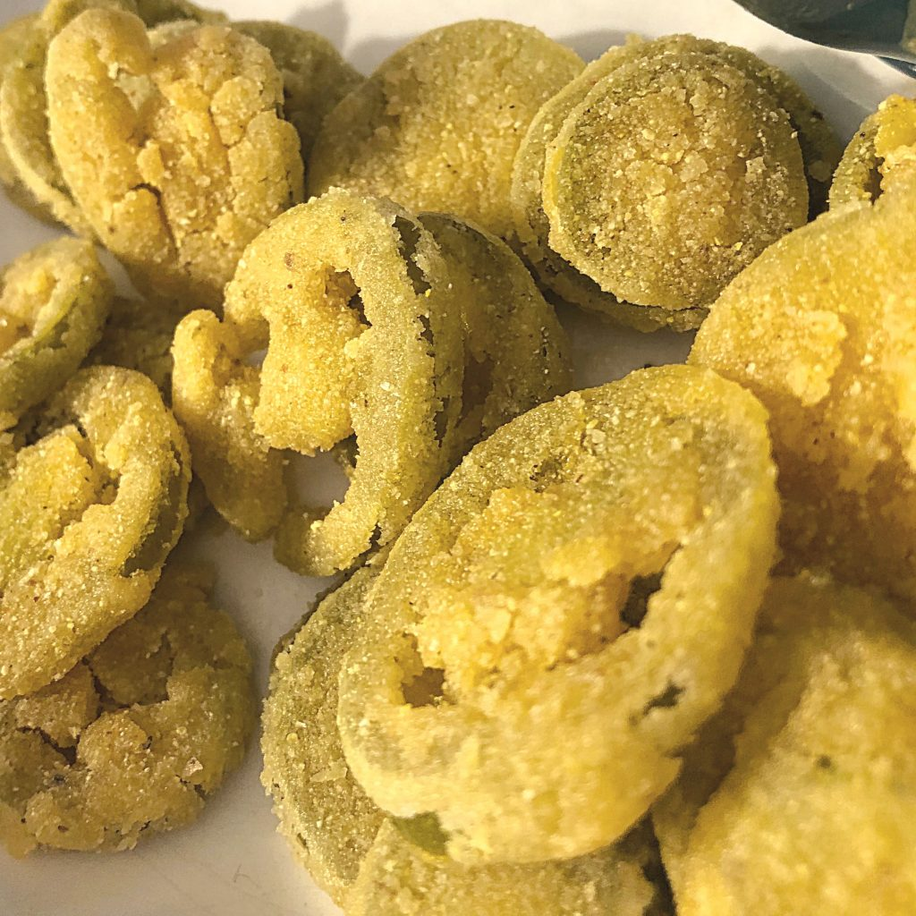 Restaurant Style Fried Pickles, Gluten-Free and Jalapenos | In Johnna's Kitchen