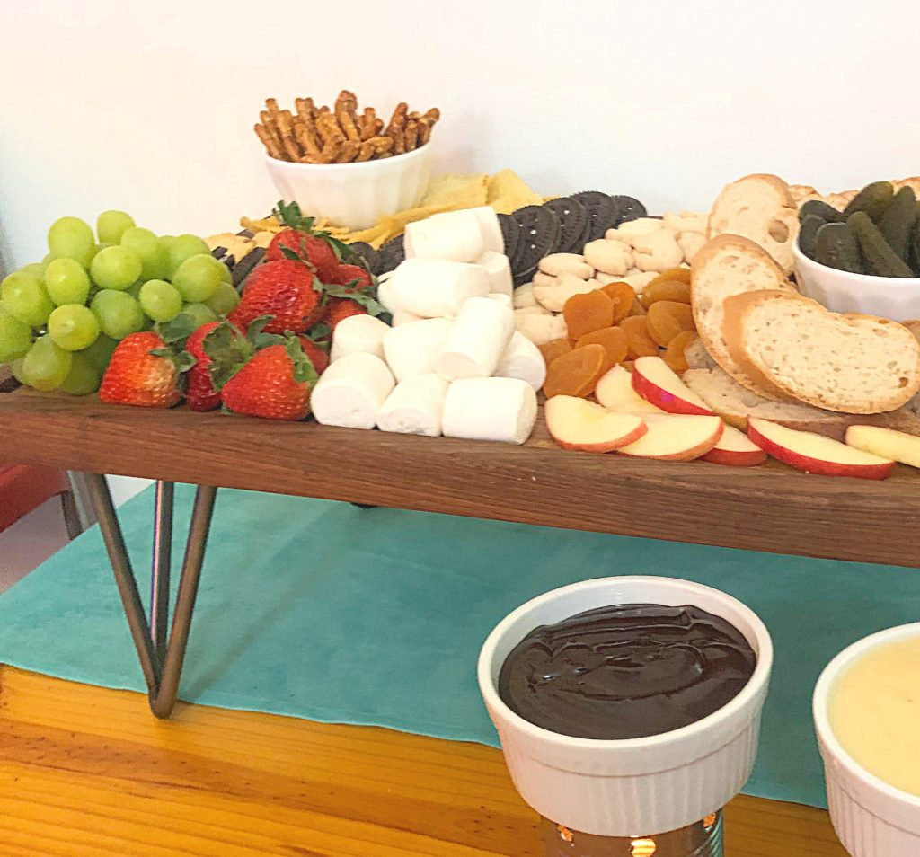How To Make a Fondue Board | In Johnna's Kitchen