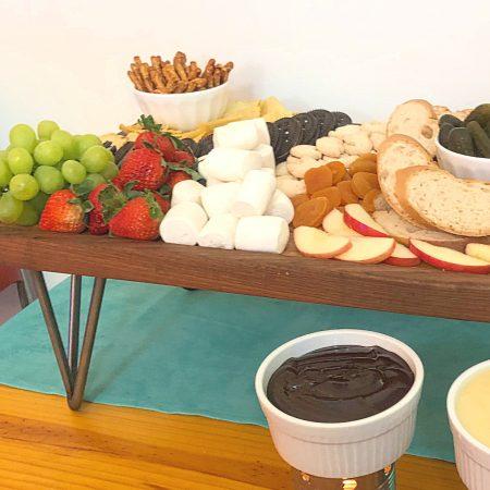 How To Make a Fondue Board | In Johnna's Kitchen