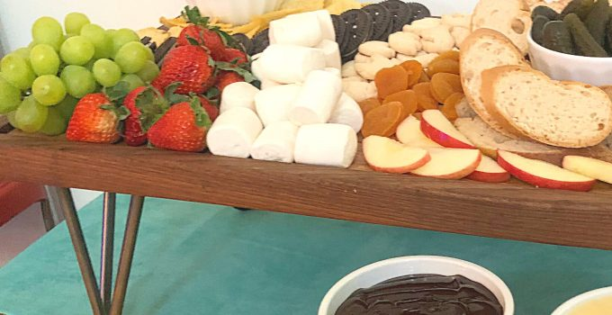 How To Make a Fondue Board, Savory AND Sweet